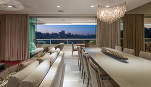 modern Living room by Andréa Buratto Arquitetura & Decoração