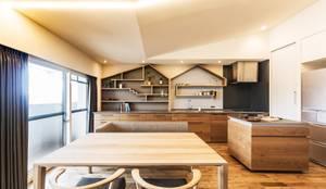 キッチン: 株式会社seki.designが手掛けたキッチンです。