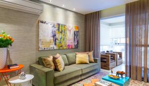 modern Living room by Casa 27 Arquitetura e Interiores