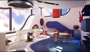 Ferrari: Cucina in stile  di Denis Confalonieri - Interiors & Architecture