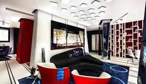 Farina: Soggiorno in stile in stile Moderno di Denis Confalonieri - Interiors & Architecture