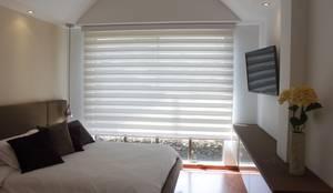 Habitación principal: Habitaciones de estilo moderno por Home Reface