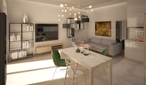 Mieszkanie art deco von puku studio homify