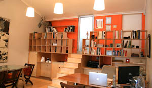 Home office: modern Study/office by Ininside