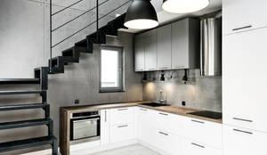 Soft Loft: styl , w kategorii Kuchnia zaprojektowany przez Partner Design