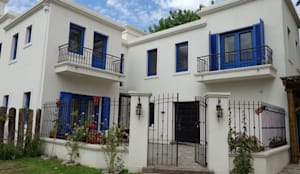 Casa en San Isidro: Casas de estilo clásico por Rocha & Figueroa Bunge arquitectos