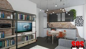 Cucina a vista: Cucina in stile  di Andrea Vertua Architetto