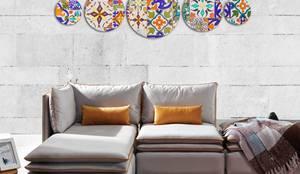 Canvas Design – Canvas Pictures 5-pieces:  tarz Duvarlar