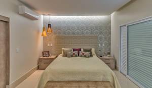 غرفة نوم تنفيذ 360+ arquitetura e interiores