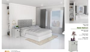 The Oleander Condo:  ห้องนอน โดย Future Interior Design Co.,Ltd., ผสมผสาน