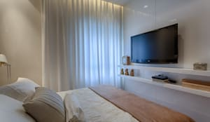 modern Bedroom by Renata Basques Arquitetura e Design de Interiores