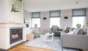 country Living room by Mignon van de Bunt Interieurontwerp, Styling & Realisatie