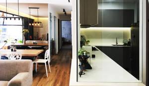 kitchen: modern Kitchen by RSDS Architects