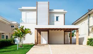 ARQUITETURA RESIDENCIAL JUNDIAÍ RESERVA DA SERRA: Casas modernas por Aresto Arquitetura