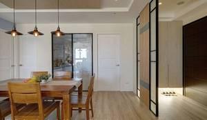 Hi+Design/Interior.Architecture. 寰邑空間設計의  다이닝 룸