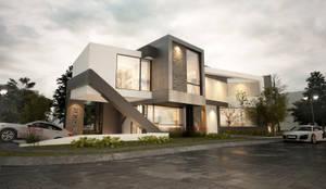 Casa en Los Olivos : Casas de estilo  por EBA Architecture & Desing