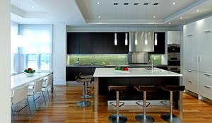 Kitchen & Island: modern Kitchen by Douglas Design Studio