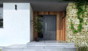 Fenêtres de style  par BIURO PROJEKTOWE MTM STYL