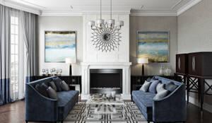 Living Room: modern Living room by Hampstead Design Hub
