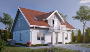 classic Houses by BIURO PROJEKTOWE MTM STYL