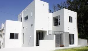 南側外観: 株式会社青空設計が手掛けた家です。