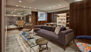 modern Living room by CLS ARQUITETURA