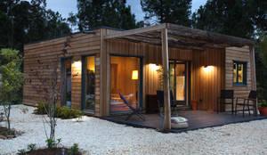 RUSTICASA   100 projetos   Portugal + Espanha: Casas de madeira  por Rusticasa