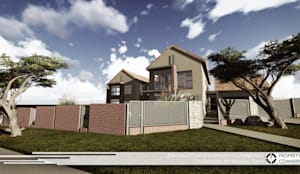 House Letsie:  Houses by Property Commerce Architects