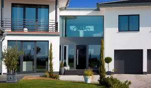 Landhaus mit besonderem charme und gesundem raumklima modernes wohnen im naturstammhaus von - Moderne fensterformen ...