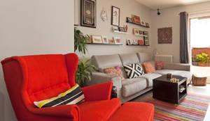 modern Living room by Sincro