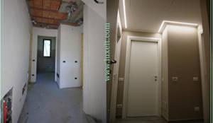 Illuminazione Di Un Corridoio : Illuminazione corridoio con line di luxelt homify