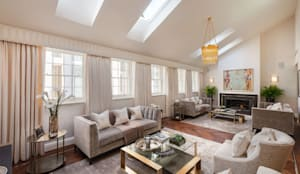 RBD Architecture & Interiors, Kensington & Chelsea project: classic Living room by RBD Architecture & Interiors