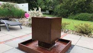 gartenbrunnen von gauger design by gauger design homify. Black Bedroom Furniture Sets. Home Design Ideas