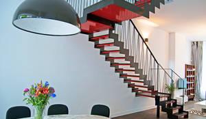 Moderne trap von van bruchem staircases interiors homify