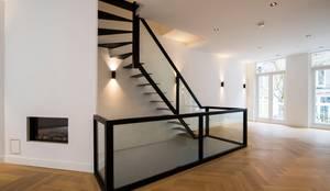 Zwevende Trap Kosten : Zwevende trap glas von van bruchem staircases interiors homify