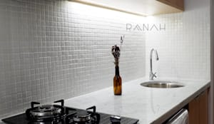 Studio Apartment - Woodland Park Kalibata:  Dapur by RANAH