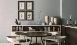 MENTAL ARC DESIGN – Yemek Odası: minimal tarz tarz Yemek Odası