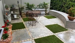 Projekty,  Taras zaprojektowane przez Gorgeous Gardens