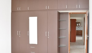 Buy Wooden Cupboard Online In India: asian Bedroom by Scale Inch Pvt. Ltd.