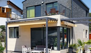 Galería en Casa Cube 175: Casas de estilo moderno de Casas Cube