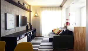 industrial Living room by Lelalo - arquitetura e design