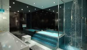 VERO CONCEPT MİMARLIK – Hande Hanım Konut:  tarz Banyo, Modern
