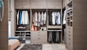 Closets industriais por Студия дизайна Interior Design IDEAS
