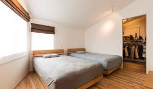 寝室: AD-HOUSE/株式会社大喜建設が手掛けた寝室です。