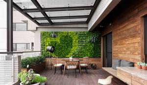 H之所在:  露臺 by 禾築國際設計Herzu  Interior Design