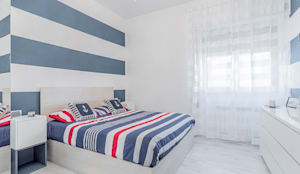 Ristrutturazione appartamento Roma, Tor Sapienza: Camera da letto in stile in stile Moderno di Facile Ristrutturare