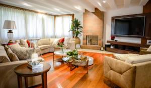Sala de Estar : Salas de estar modernas por Juliana Teixeira Arquitetura