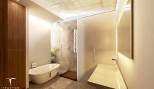 Baño principal: Baños de estilo  por Traktor Arquitectura