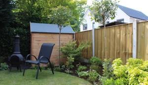 moderner Garten von Garden Ninja Ltd