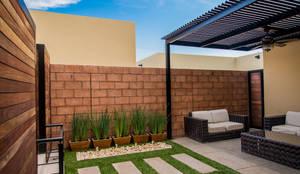 Jardins modernos por S2 Arquitectos